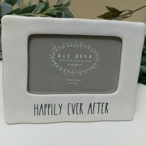 Rae Dunn Happily Ever After Picture Photo  Frame
